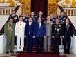 Thủ tướng tiếp các Trưởng đoàn dự Hội nghị Tư lệnh Cảnh sát ASEAN