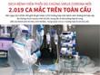 Dịch bệnh viêm phổi do virus Corona mới: 2.019 ca mắc trên toàn cầu