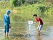 Điện Biên: Lên phương án hủy nổ quả bom phát hiện dưới lòng suối