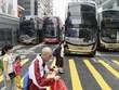 Biểu tình tiếp tục leo thang tại Hong Kong khiến giao thông tê liệt