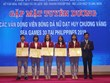 Hà Nam tuyên dương nữ cầu thủ quê hương góp công đoạt HCV SEA Games 30
