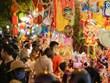 [Photo] 'Check-in' phố Hàng Mã rực rỡ sắc màu mùa Trung Thu 2020