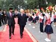 Tổng Bí thư, Chủ tịch nước chủ trì Lễ đón Quốc vương Brunei