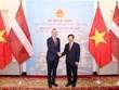 Phó Thủ tướng Phạm Bình Minh hội đàm với Bộ trưởng Ngoại giao Latvia