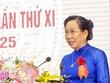 Bà Lê Thị Thủy tái cử chức Bí thư Tỉnh ủy Hà Nam nhiệm kỳ 2020-2025