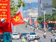 Hà Nội 'thay áo mới' chào mừng Đại hội Đảng toàn quốc lần thứ XIII