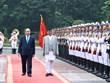 Lễ đón Thủ tướng Nepal Khadga Prasad Sharma Oli và Phu nhân