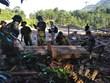 Nỗ lực tìm kiếm các nạn nhân còn bị vùi lấp trong vụ sạt lở ở Trà Leng