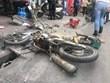 Hình ảnh vụ tai nạn liên hoàn trên phố Ngọc Khánh khiến một người chết