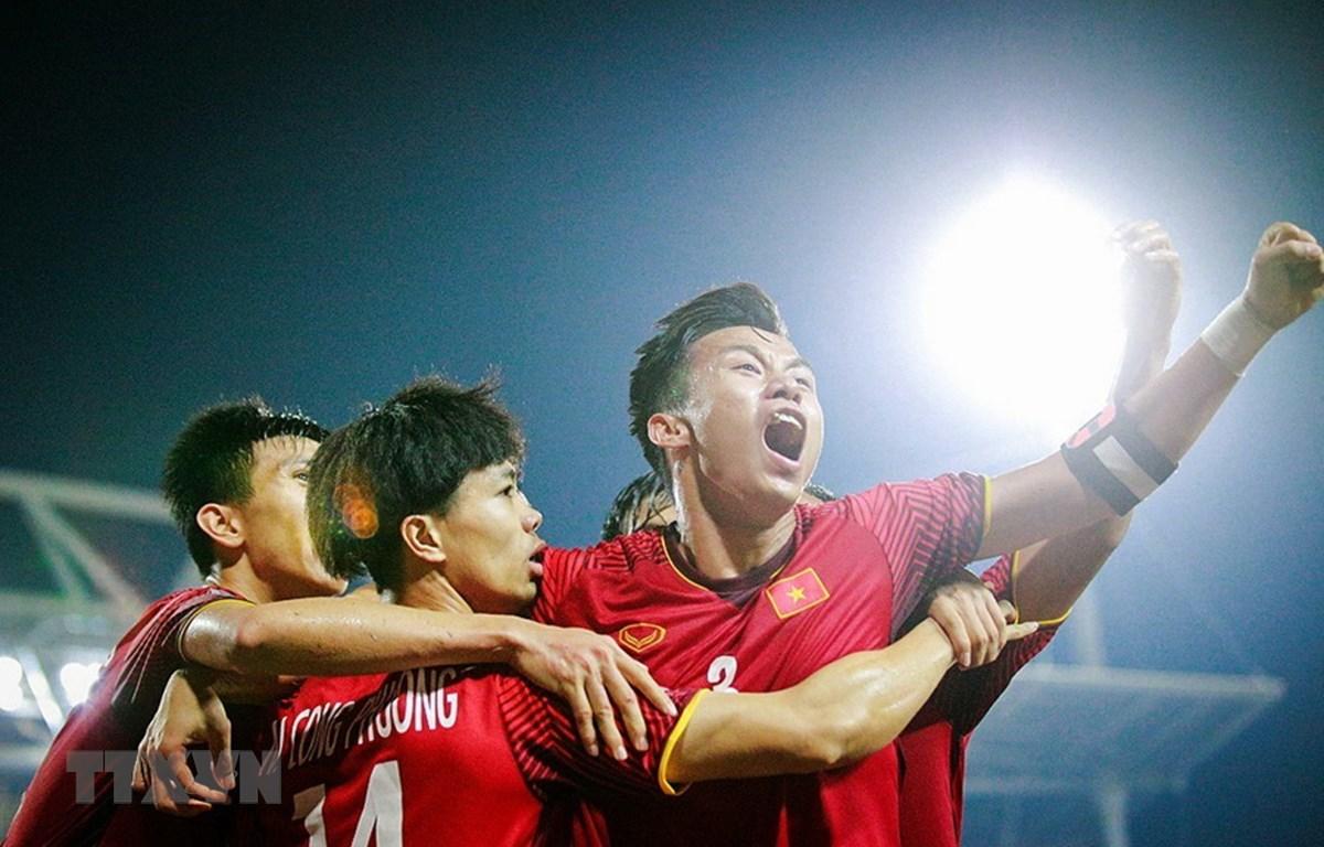 Đội tuyển Việt Nam sẽ gây bất ngờ trước Iraq? (Ảnh: Trọng Đạt/TTXVN)