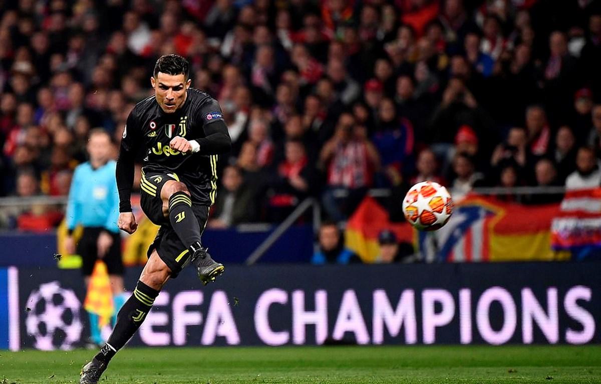 Ronaldo không thể giúp Juventus tránh khỏi thất bại trước Atletico. (Nguồn: AFP/Getty Images)
