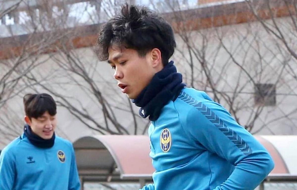 Công Phượng đang thể hiện phong độ ấn tượng trong màu áo Incheon United. (Nguồn: incheonutd.com)