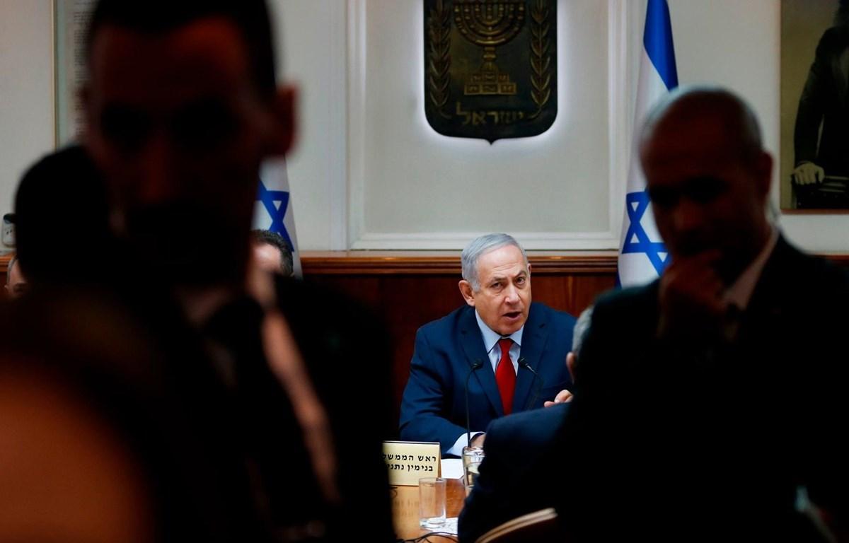 Thủ tướng Israel Benjamin Netanyahu bị truy tố. (Nguồn: Getty Images)
