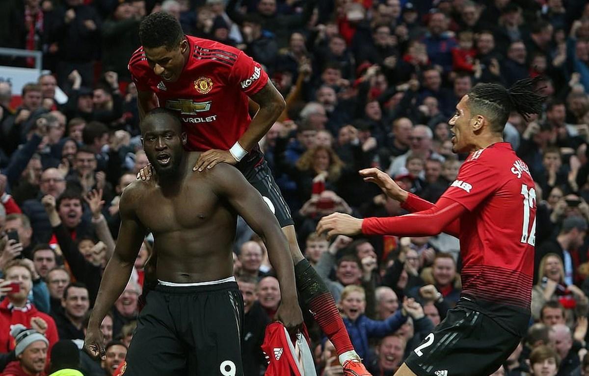 Lukaku đưa M.U trở lại tốp 4. (Nguồn: Getty Images)