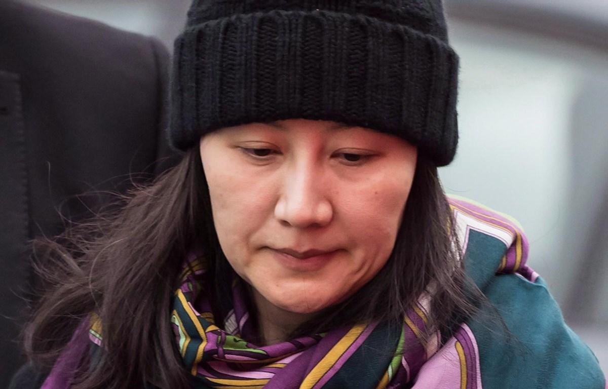 Giám đốc Tài chính Huawei Mạnh Vãn Chu. (Nguồn: citynews.ca)