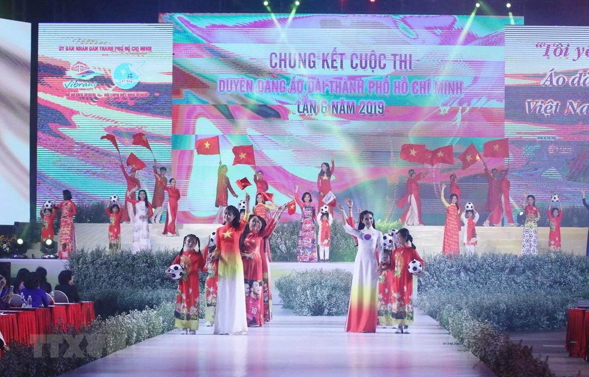 Trao giải cuộc thi Duyên dáng Áo dài Thành phố Hồ Chí Minh lần 6