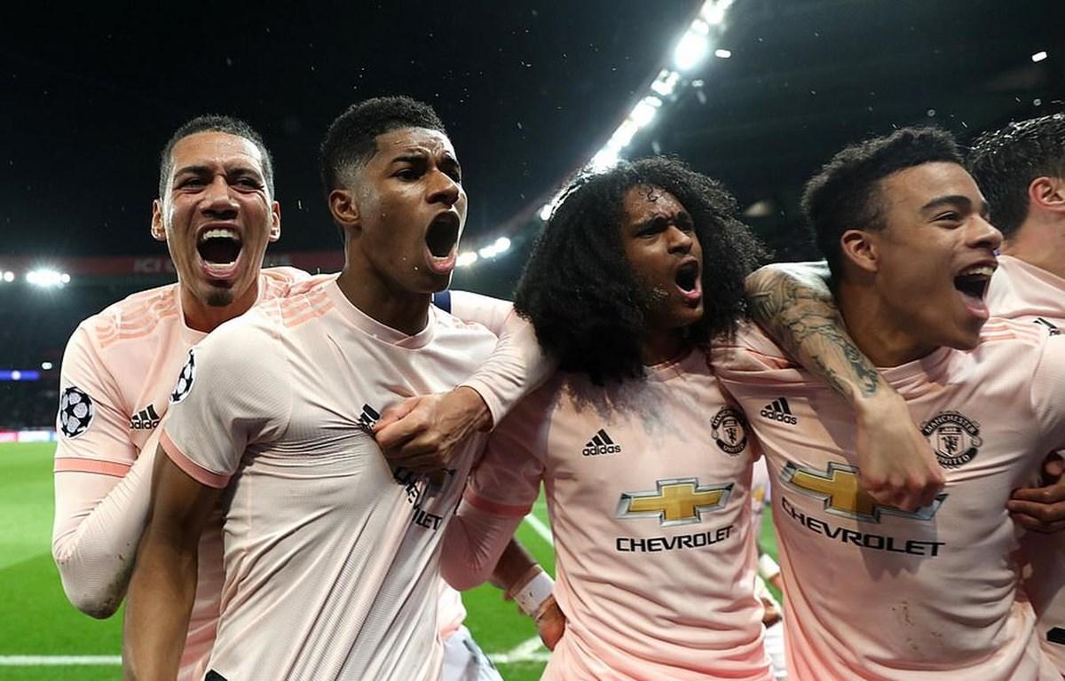 M.U thẳng tiến vào tứ kết Champions League. (Nguồn: Getty Images)