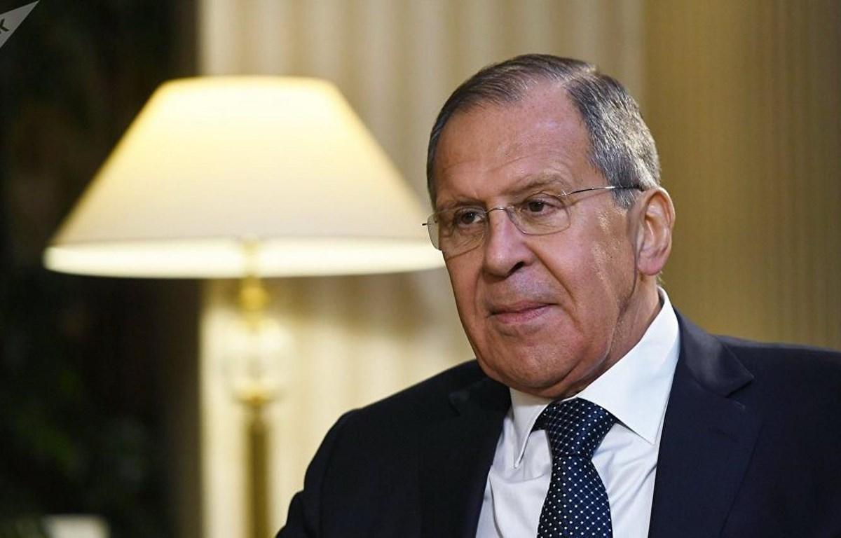 Ngoại trưởng Nga Sergei Lavrov. (Nguồn: Sputnik)