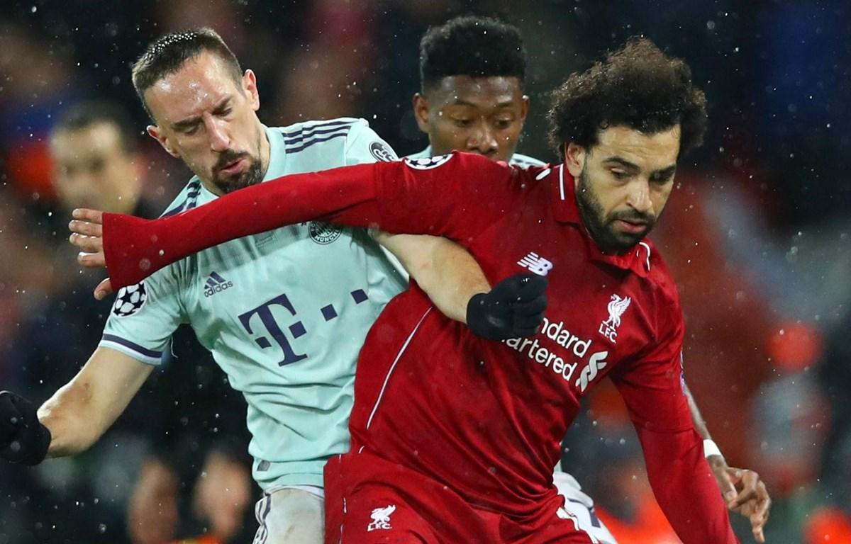 Bayern vs Liverpool tranh vé tứ kết. (Nguồn: Goal.com)