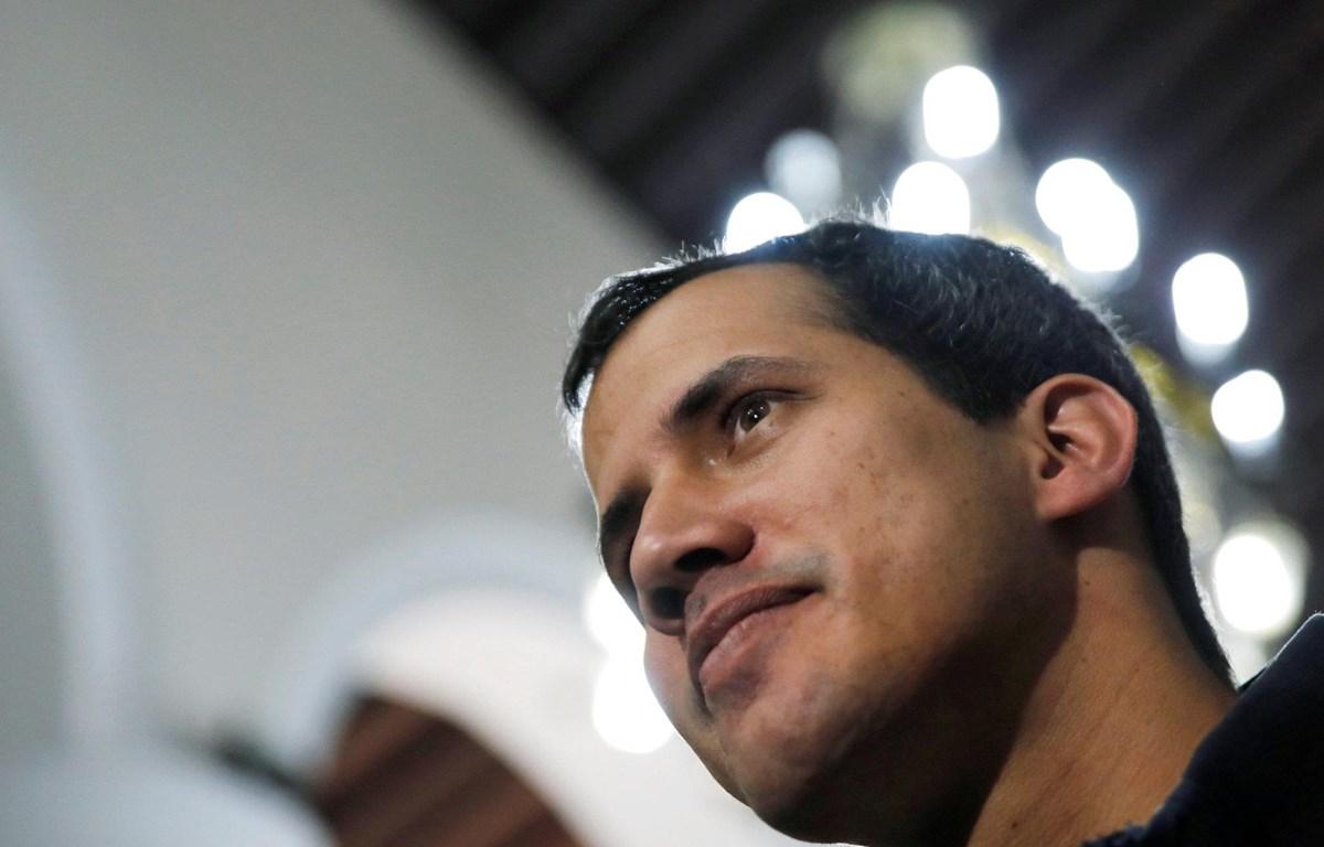 Thủ lĩnh phe đối lập Juan Guaido. (Nguồn: The Japan Times)