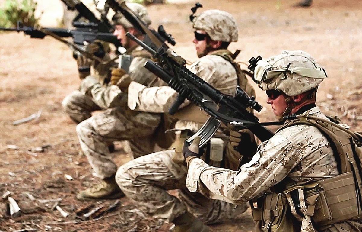 Binh lính Mỹ. (Nguồn: American Grit)