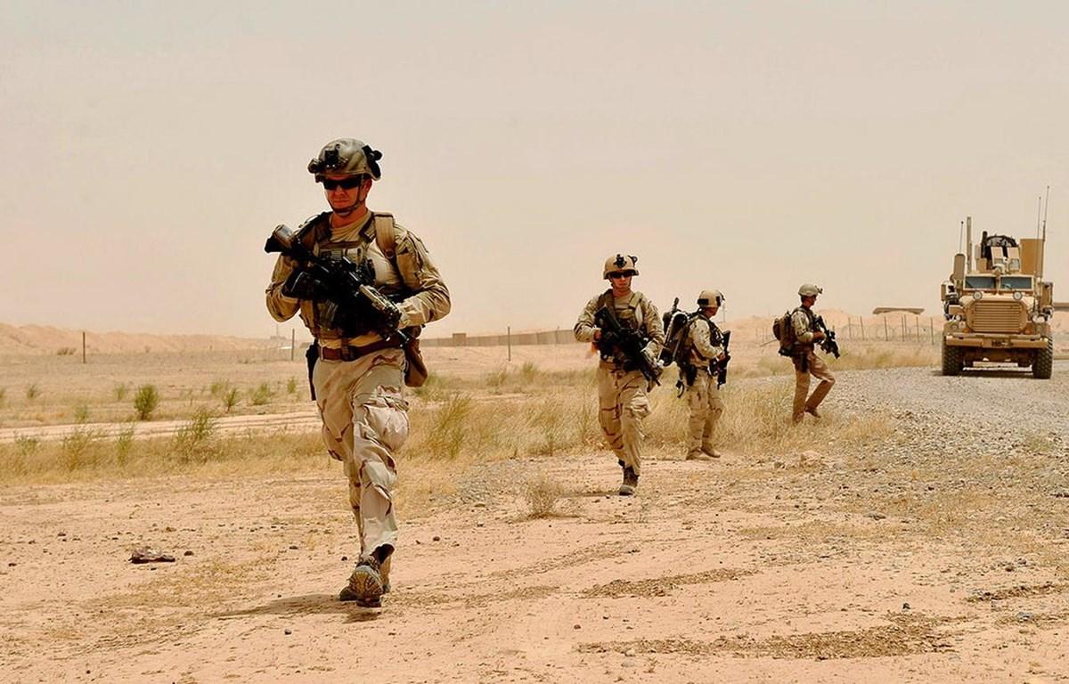 Binh sỹ Mỹ tại Iraq. (Nguồn: U.S. Navy)