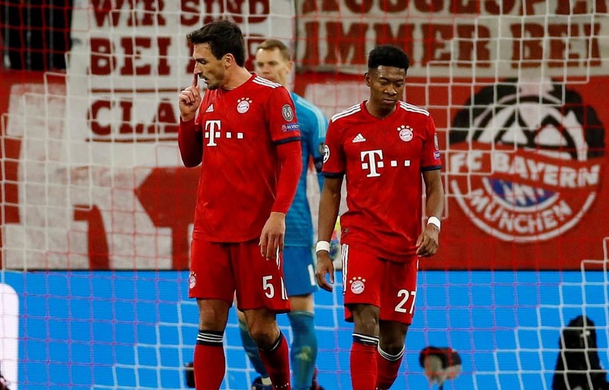 Bayerrn Munich chia tay Champions League. (Nguồn: Reuters)