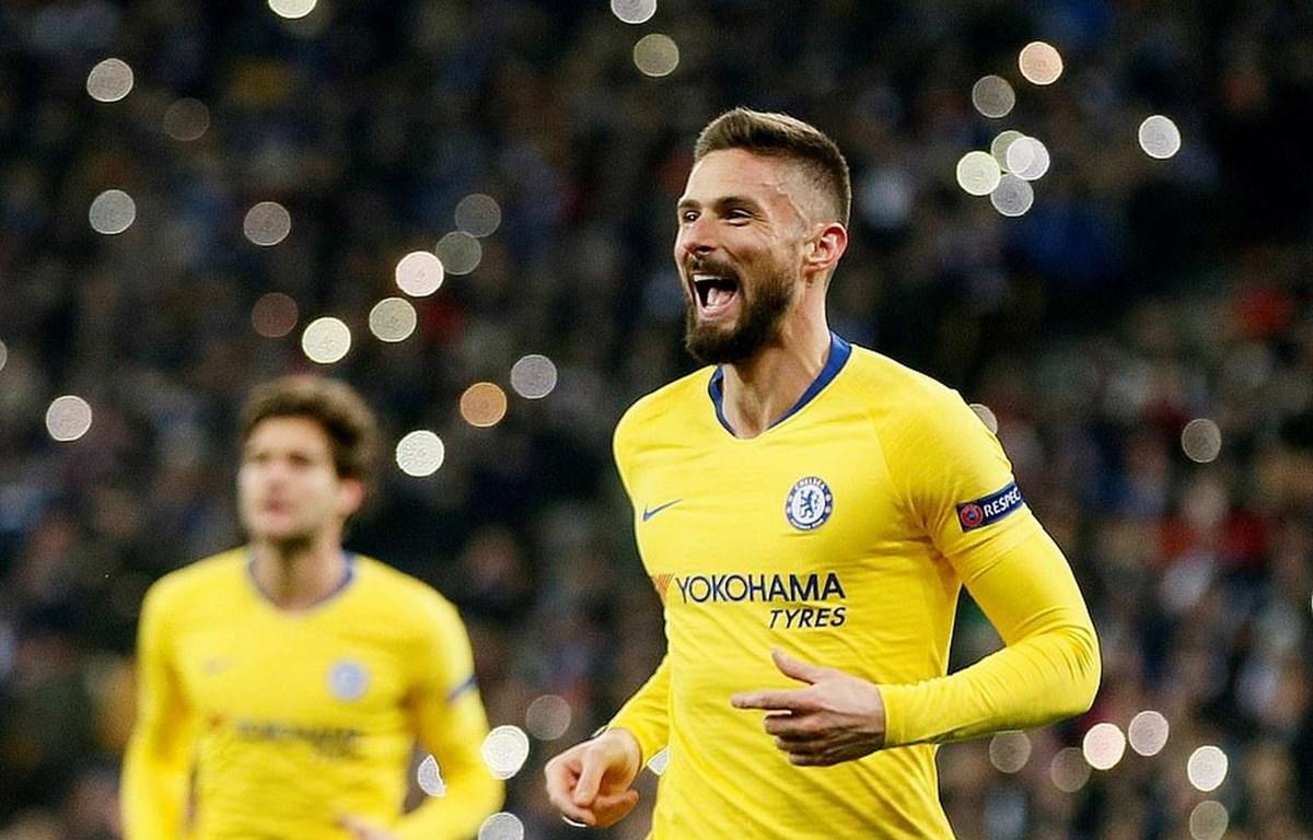 Giroud lập hat-trick cho Chelsea. (Nguồn: Reuters)