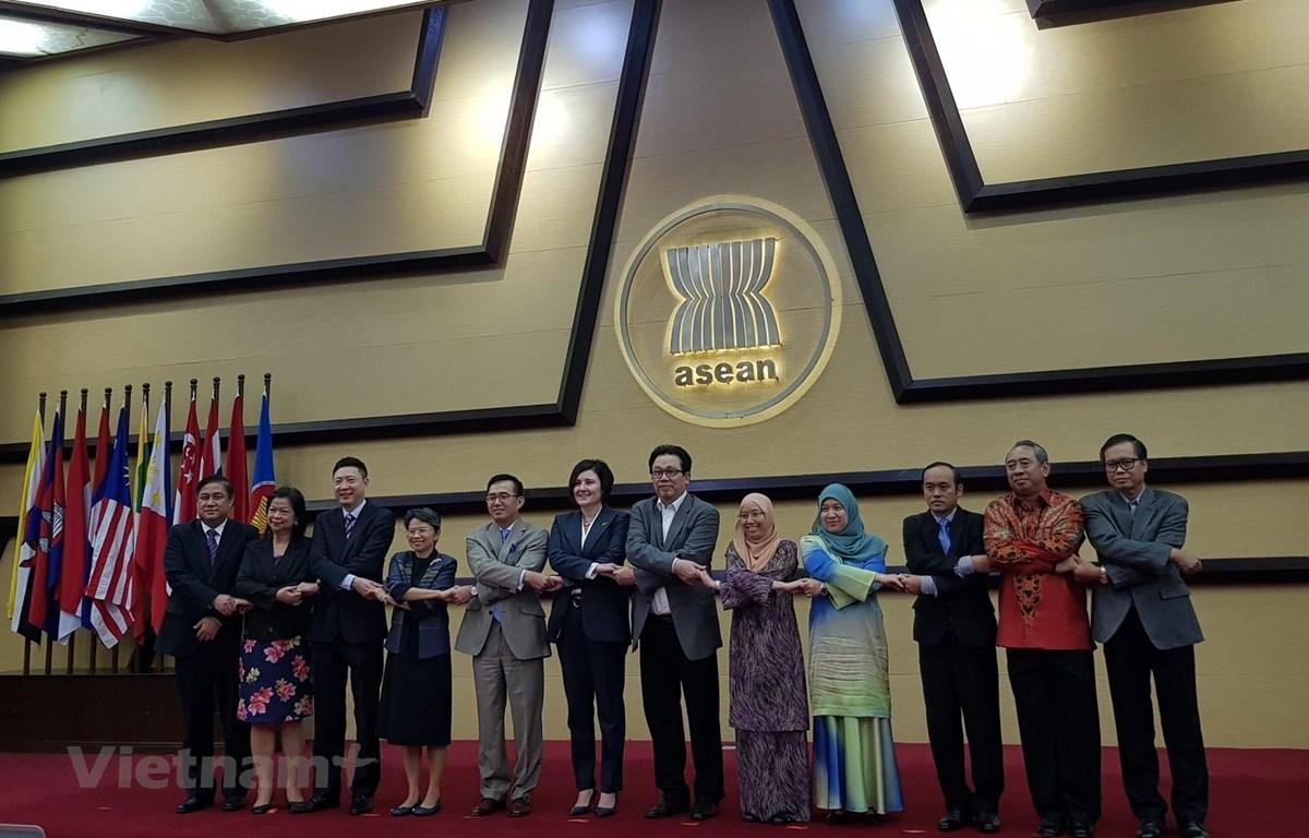 Các đại biểu tại cuộc họp. (Ảnh: Đỗ Quyên/Vietnam+)