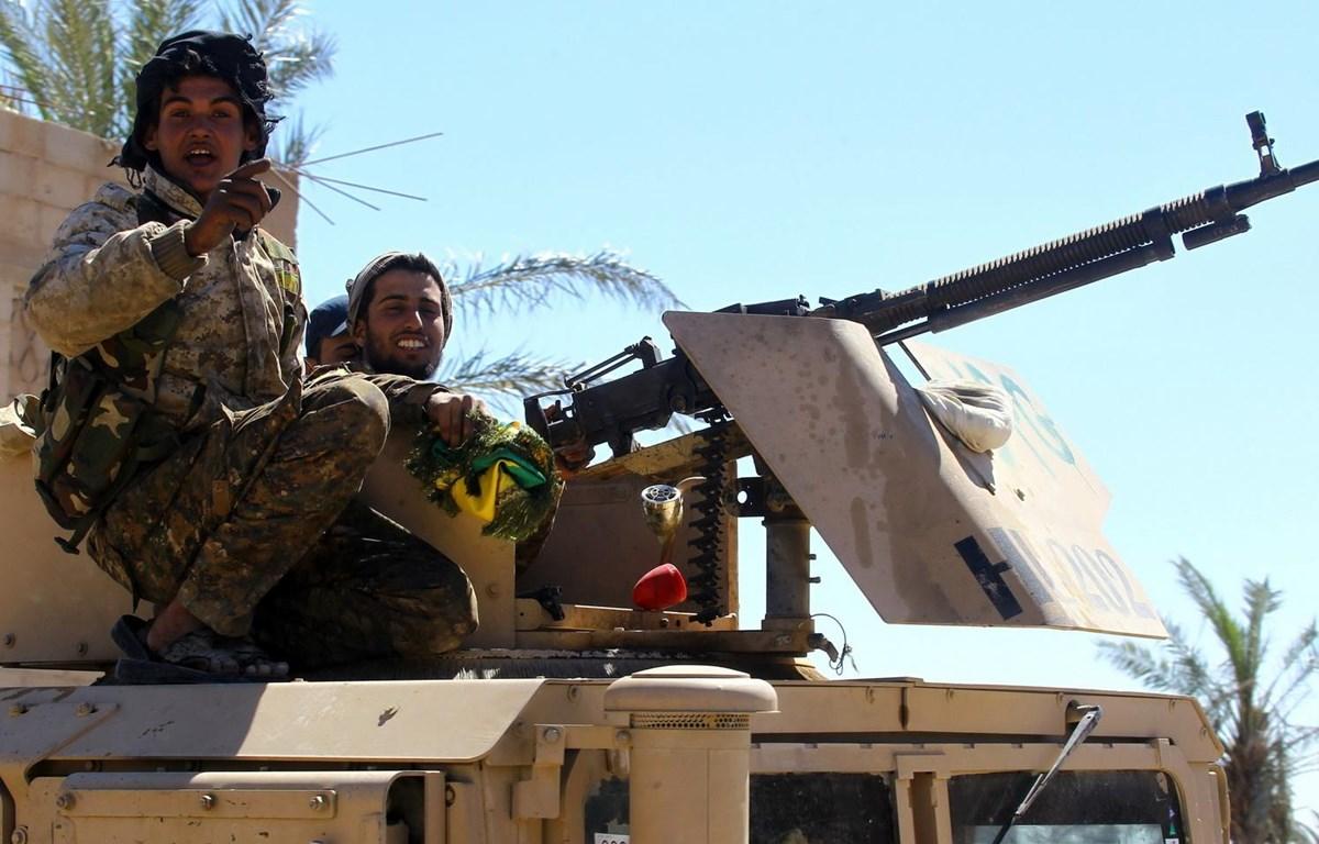 Binh sỹ thuộc lực lượng SDF. (Nguồn: Reuters)