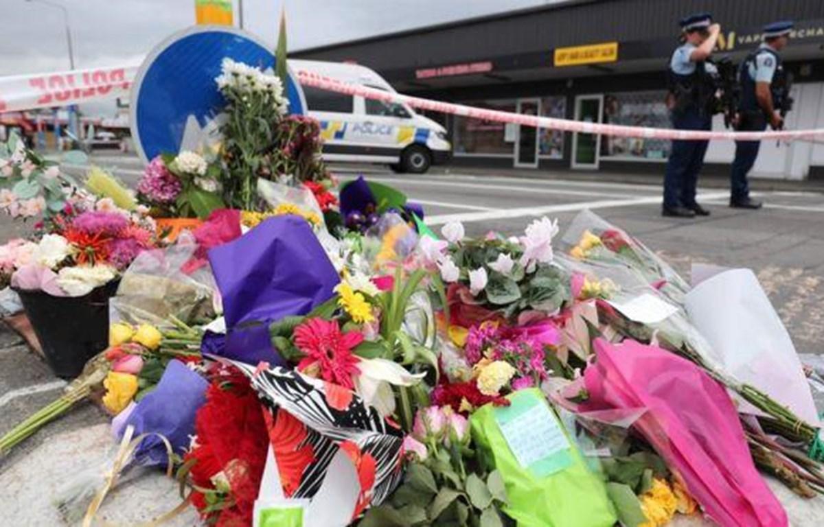 Tưởng niệm các nạn nhân trong vụ xả súng đẫm máu ở New Zealand. (Nguồn: Getty Images)