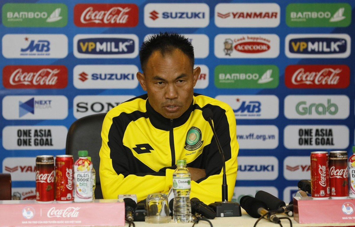 HLV U23 Brunei Stephen Ng Heng Seng. (Nguồn: VFF)