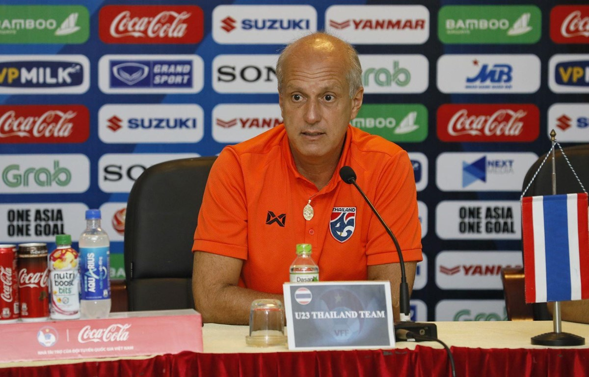 Huấn luyện viên Alexandre Gama của U23 Thái Lan. (Nguồn: VFF)