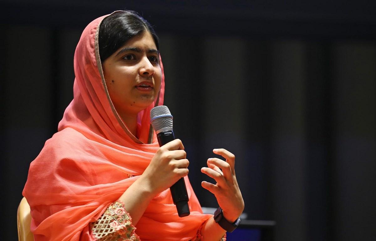Malala Yousafzai, chủ nhân giải Nobel Hòa Bình 2014.