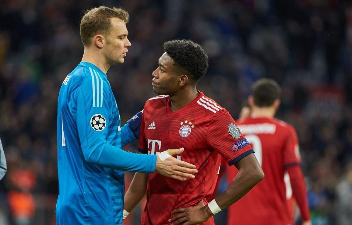 Bayern dừng cuộc chơi ở Champions League sau thất bại ngay trên sân nhà.