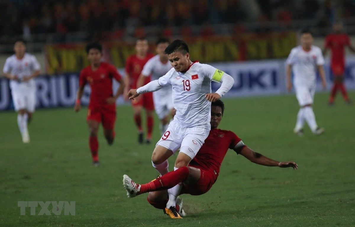 Sau U23 Indonesia, Việt Nam sẽ phải đối mặt với thách thức mang tên U23 Thái Lan. (Ảnh: Trọng Đạt/TTXVN)