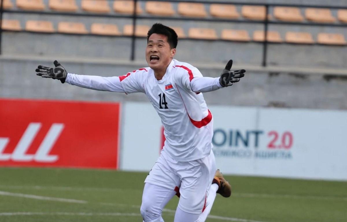 U23 Triều Tiên giành vé dự vòng chung kết U23 châu Á 2020. (Nguồn: AFC)