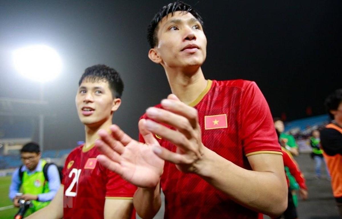U23 Việt Nam được AFC đánh giá cao. (Ảnh: Trọng Đạt/TTXVN)
