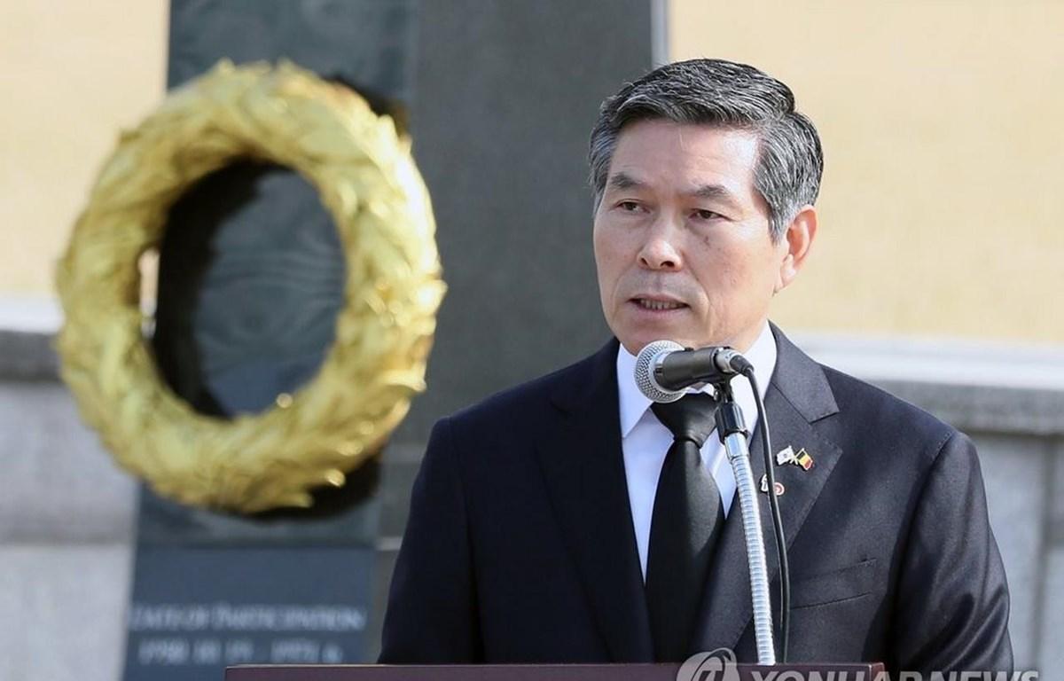 Bộ trưởng Quốc phòng Hàn Quốc Jeong Kyeong-doo. (Nguồn: Yonhap)