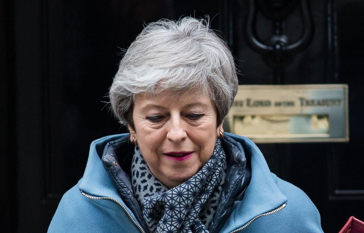 Thủ tướng Anh Theresa May. (Nguồn: Axios)
