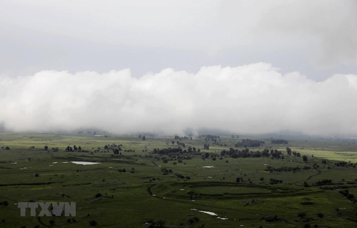 Khu vực Cao nguyên Golan do Israel chiếm đóng, ngày 25/3/2019. (Ảnh: AFP/TTXVN)