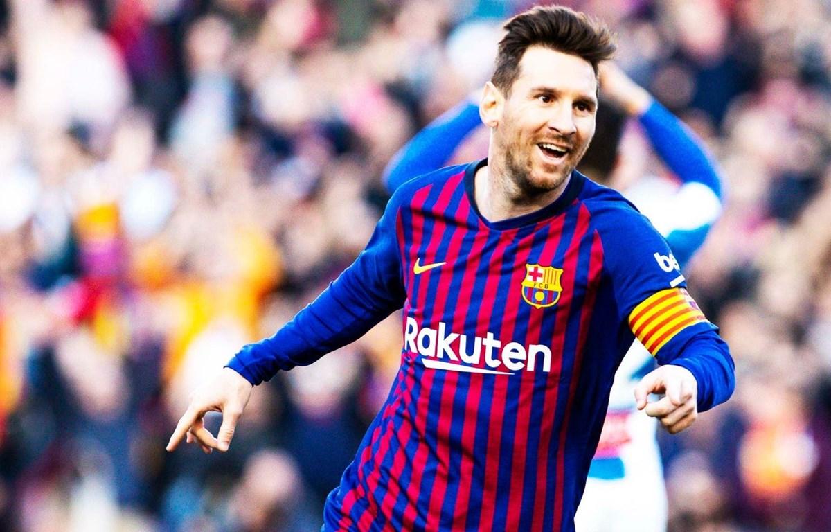Lionel Messi lại thiết lập kỷ lục ghi bàn. (Nguồn: Getty Images)