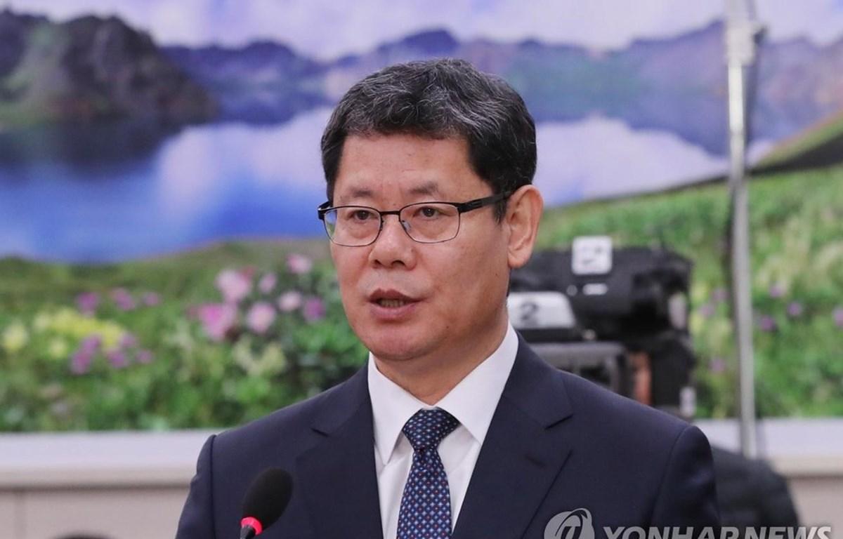 Ứng cử viên Bộ trưởng Thống nhất Kim Yeon-chul. (Nguồn: Yonhap)