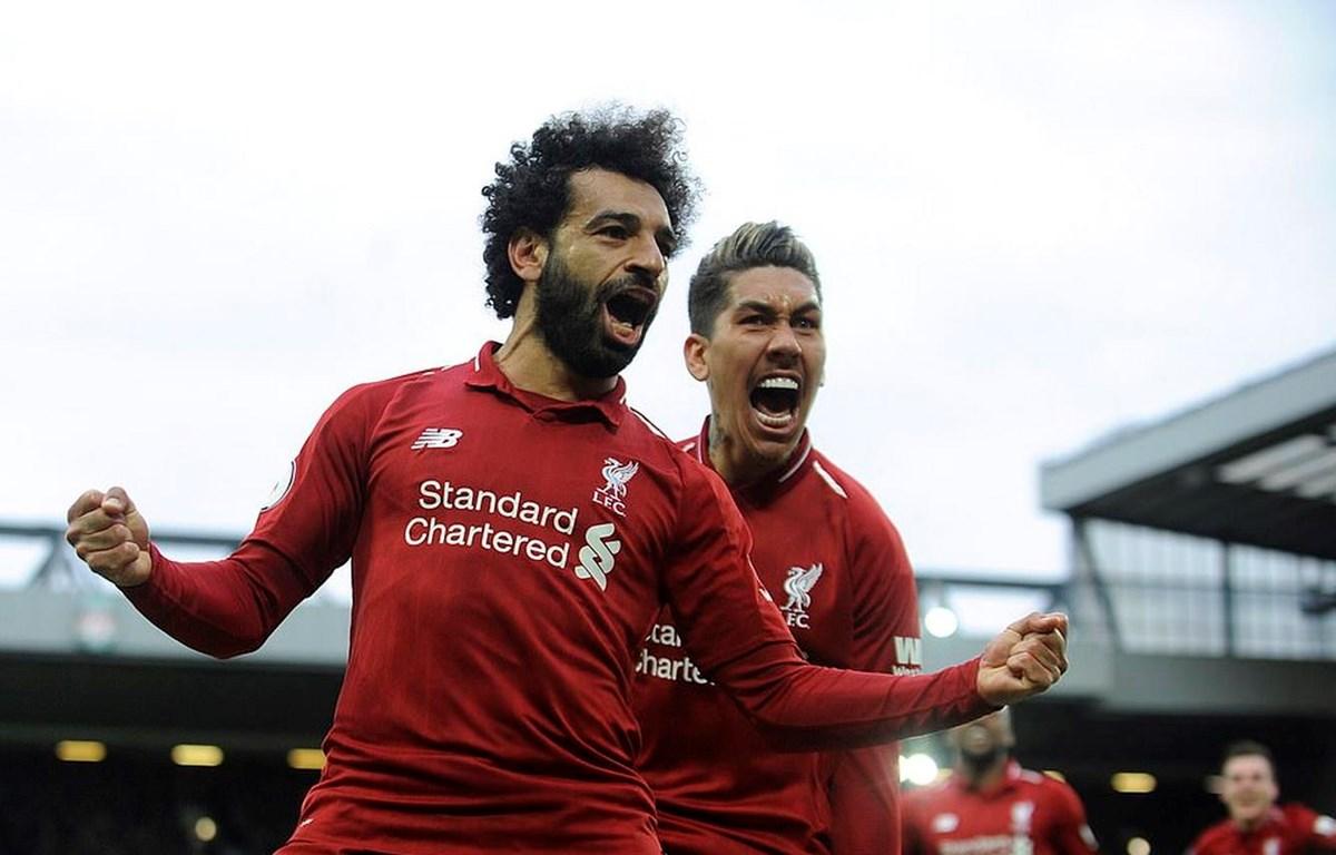 Liverpool trở lại ngôi đầu Premier League.