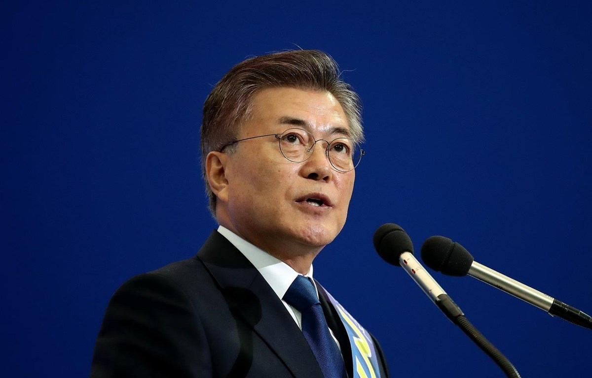 Tổng thống Hàn Quốc Moon Jae-in. (Nguồn: Time Magazine)