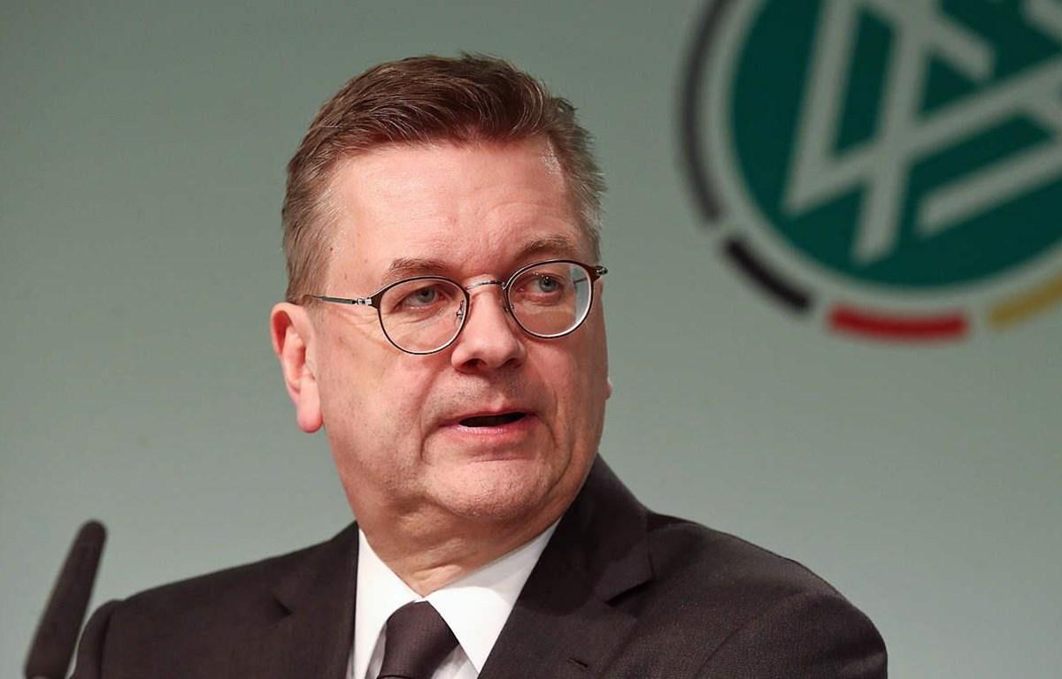Reinhard Grindel từ chức Chủ tịch DFB. (Nguồn: Dfb.de)