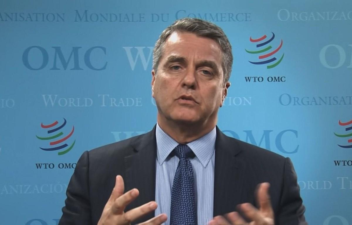 Giám đốc WTO Roberto Azevedo. (Nguồn: CNBC.com)