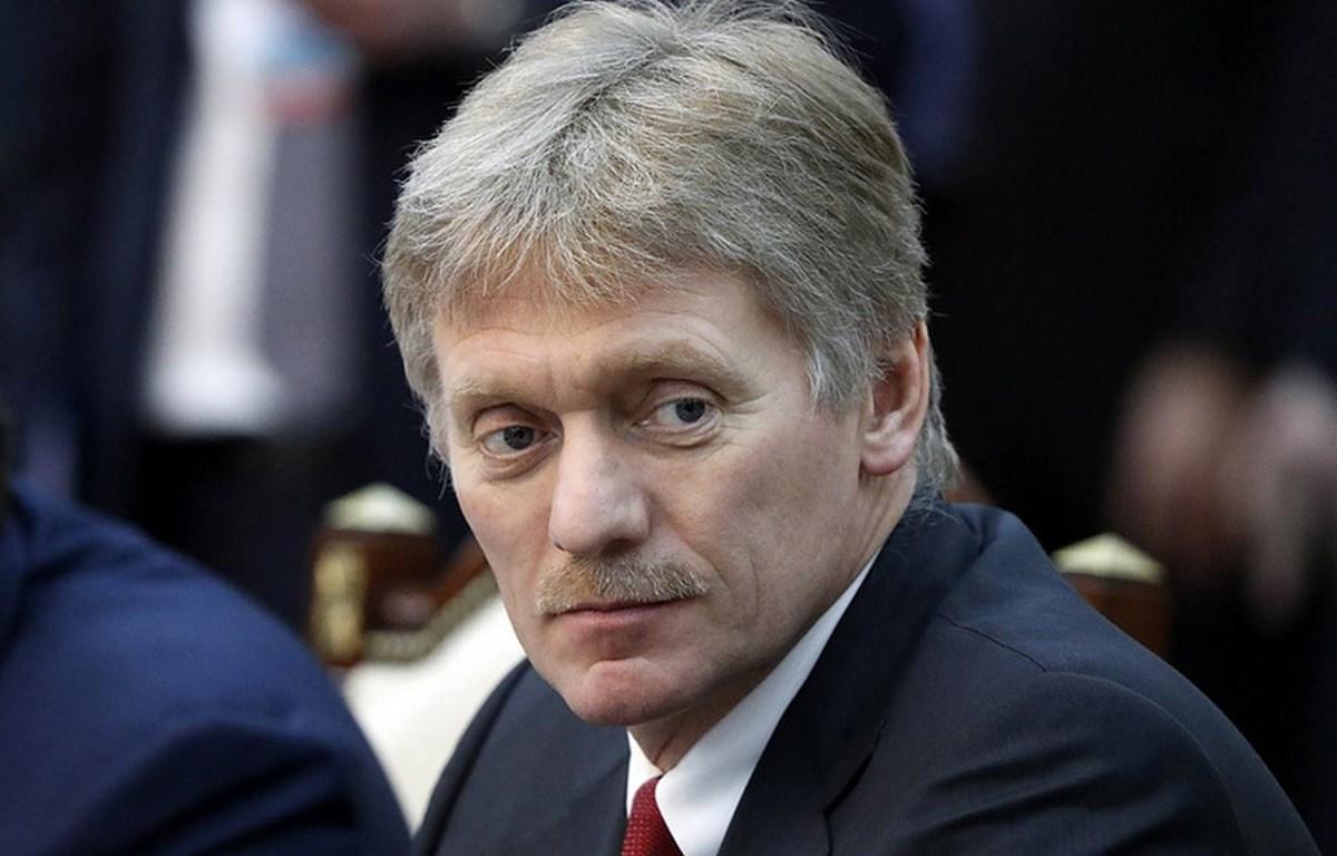 Người phát ngôn Điện Kremlin Dmitry Peskov. (Nguồn: TASS)