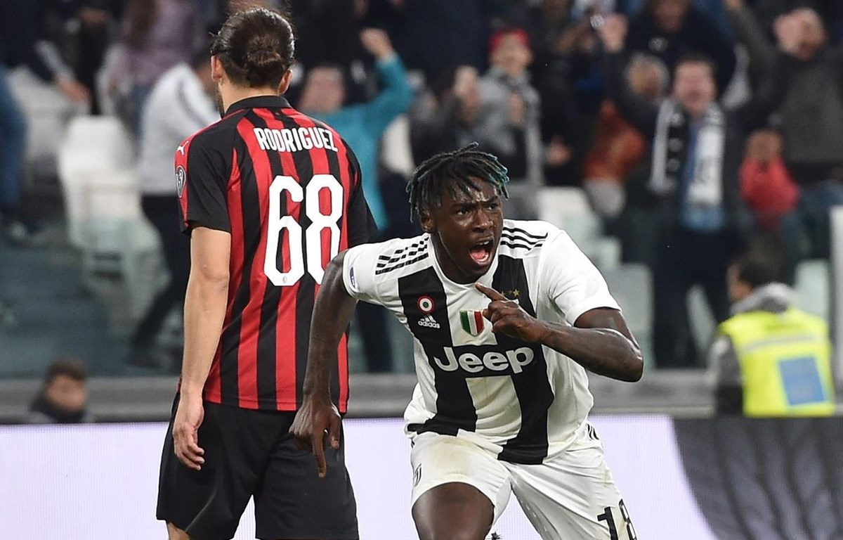 Moise Kean giúp Juventus áp sát ngôi vương. (Nguồn: Getty Images)