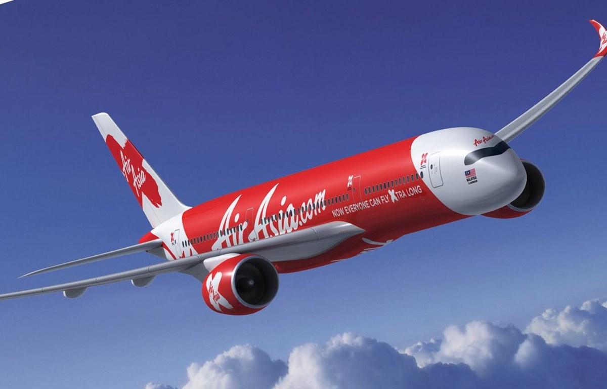 Máy bay của hãng hàng không AirAsia.